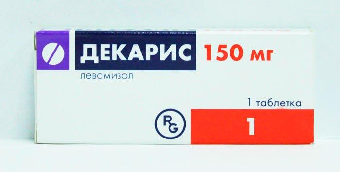 Имунностимулятор при гонартрите Декарис