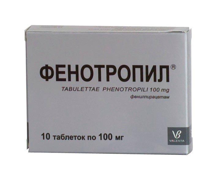 Ноотропное сосудорасширяющее средство Фенотропил
