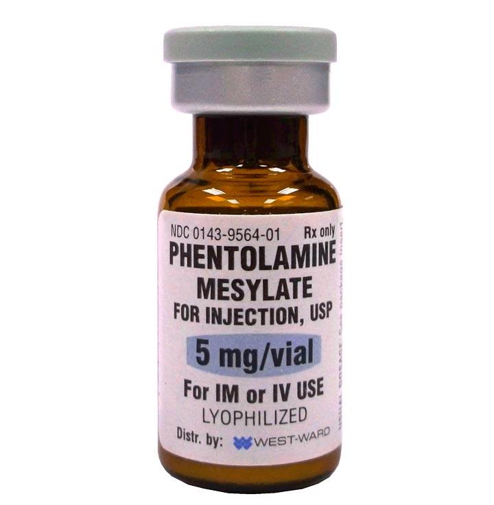Сосудорасширяющее средство Фентоламин