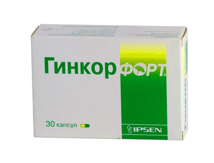 Сосудорасширяющее средство Гинкорфорт