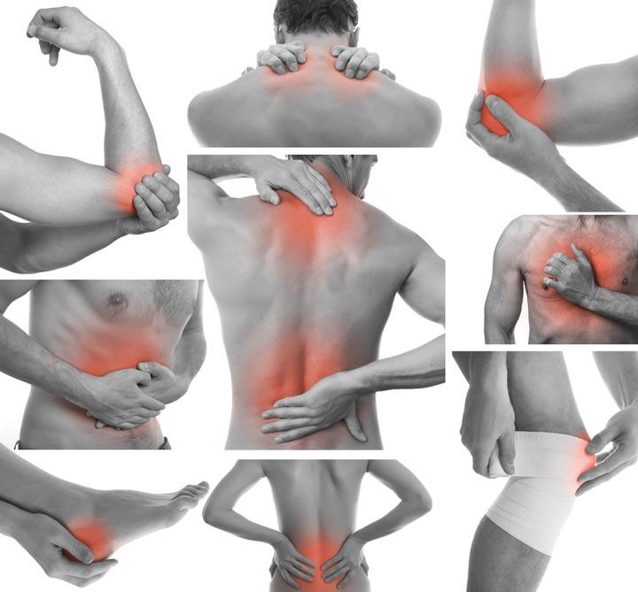 Амплипульстерапию применяют при болезнях суставов и позвоночника