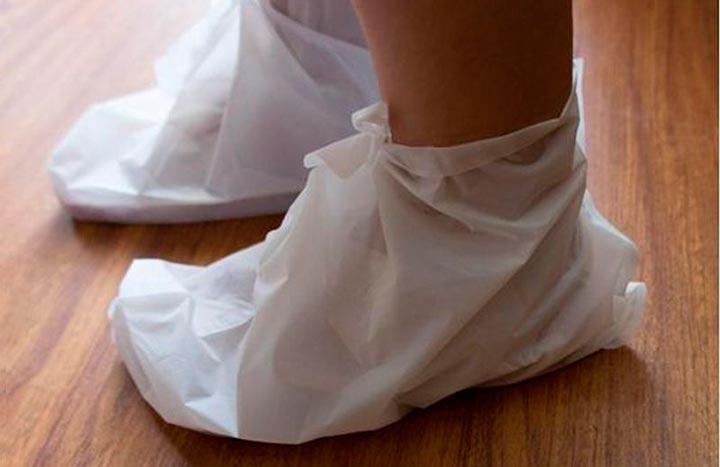 Целебные компрессы для ног
