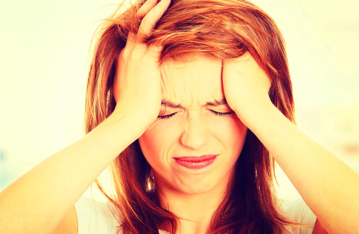 При мигрени показан массаж воротникового отдела