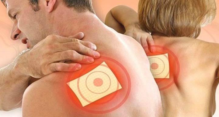 Использование нанопластыря при болях