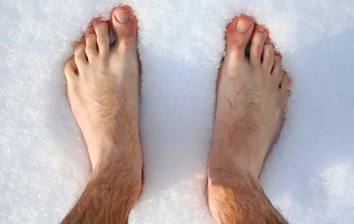 Переохлаждение ног - причина артрита