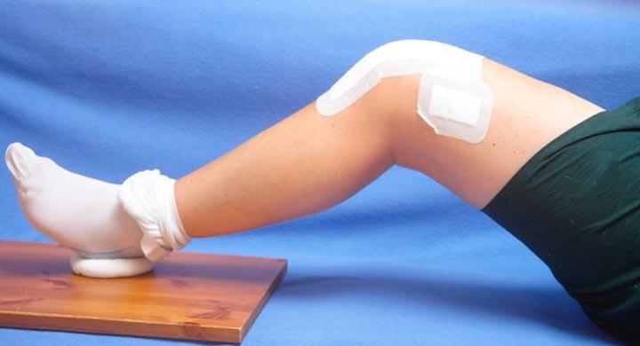 Пластырь на колене