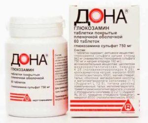 Препарат Дона - таблетки
