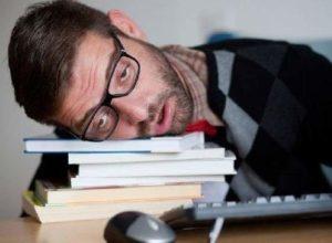 Человек устал
