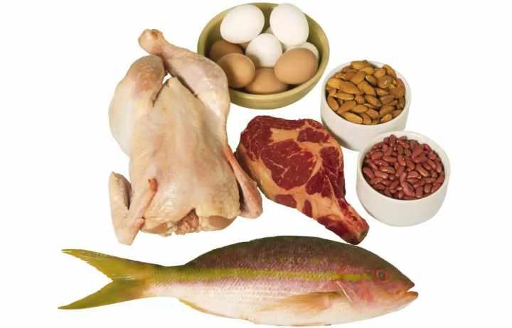 Курица, мясо, рыба