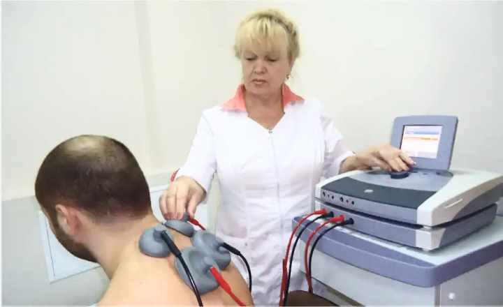 Физиопрогревания шейного остеохондроза