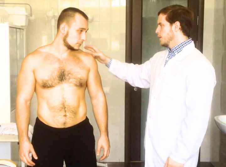 Исследование плечевого сустава