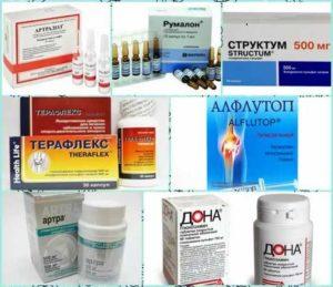 Лекарственные средства - хондропротекторы