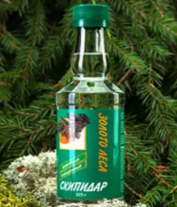 Бутылка скипидара