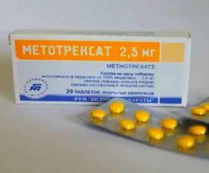 Препарат Метотрексат таблетированный