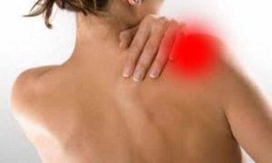 Локализация боли в правом плече