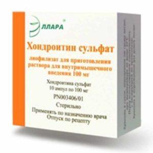 Препарат для суставов - хондроитин сульфат