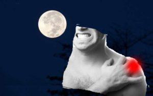 Когда болит плечо по ночам
