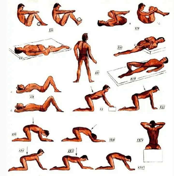 Упражнения лечебной физкультуры