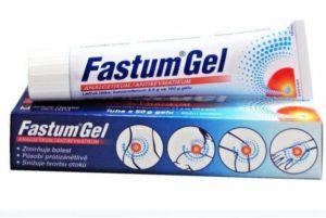 Лечение суставов мазью - фастум гель