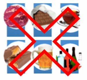 Неправильное питание при воспалении сухожилий