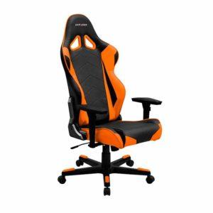 Кресло для ПК черно-оранжевого цвета