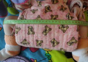 Измерение подушки фрейка