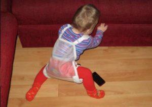 Применение при ходьбе подушки фрейка
