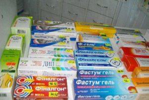 Аптечные мази от суставов