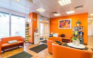 Интерьер центра лечения позвоночника в Люберцах