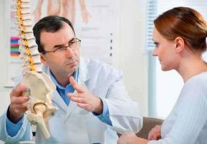 На приеме у врача вертеброневролога