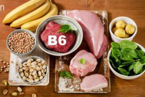Продукты витаминной группы В6