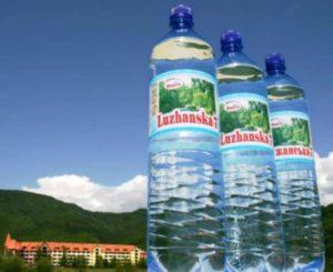 Виды минеральной воды - Лужанская