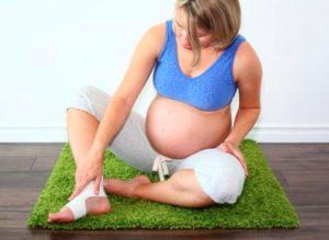 У беременных отеки