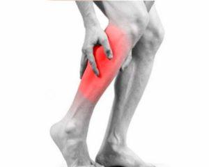 Тянущая боль в икре правой ноги