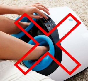 Противопоказания для массажа ног