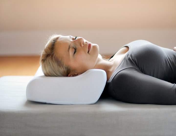 Подушка ортопедическая для шейного отдела позвоночника своими руками
