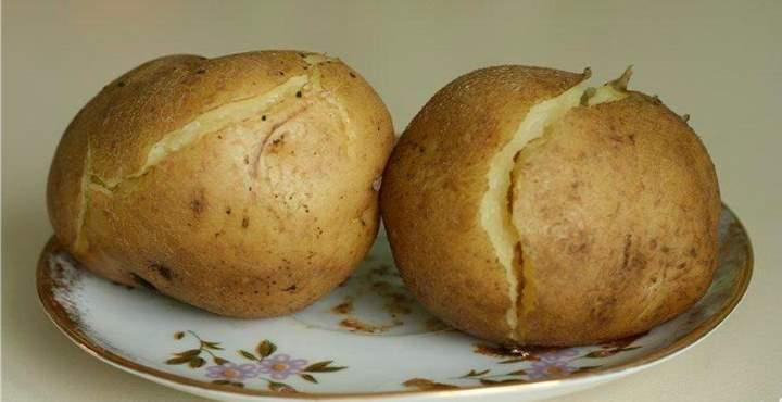 Картошка для компресса на шею
