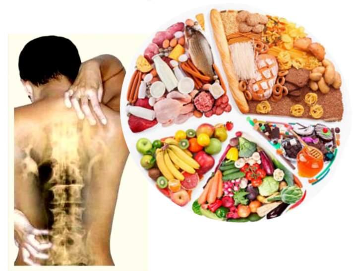 Питание при остеохондрозе поясничного отдела позвоночника