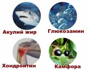 Гюкозамин в акульем жире