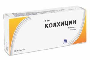 Лекарство от подагры - таблетки Колхицина