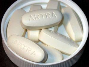 Вид таблеток препарата артра