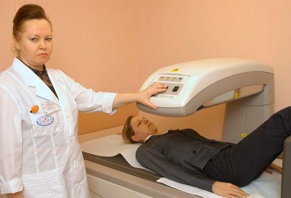 Диагностика грудного спондилеза
