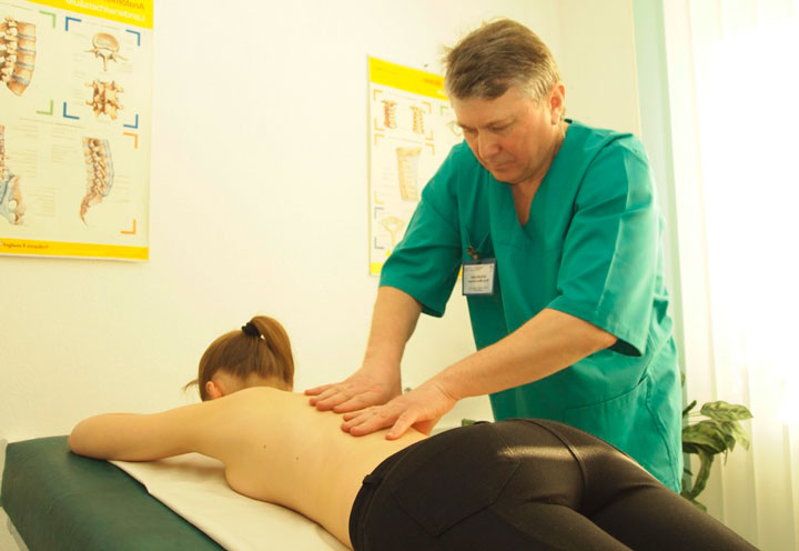 Физиотерапия грудного спондилеза
