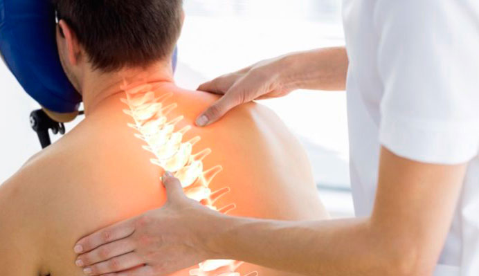 Лечение грудного спондилеза