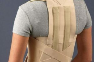 Бандаж для спины