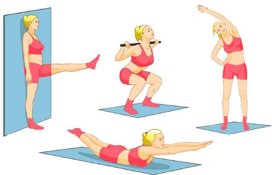 Упражнения для лечения сколиоза